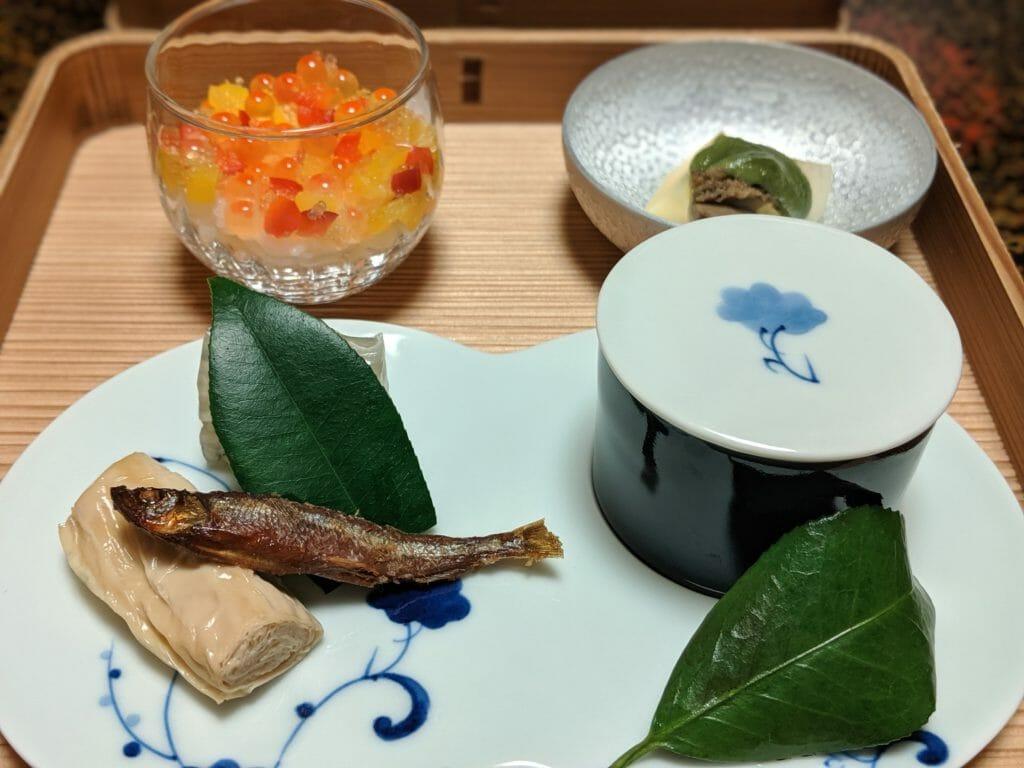 四季の宿 みちのく庵の夕食