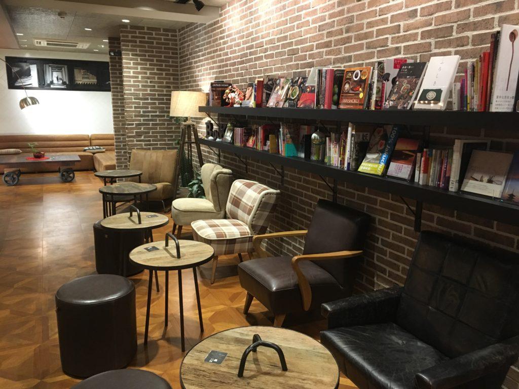 京都一人旅におすすめのホテルSAKURA TERRACE THE ATELIER (サクラテラス・ザ・アトリエ)のパブリックスペース
