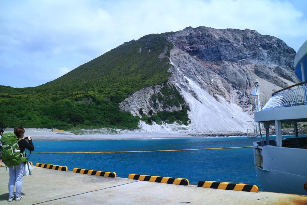 神津島の港