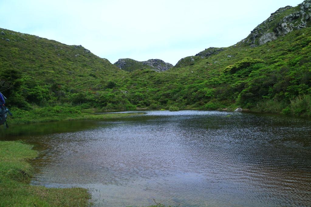 神津島天上山の千代池