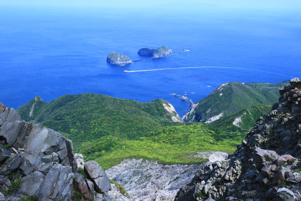神津島天上山裏砂漠展望地
