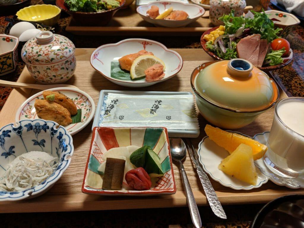 四季の宿 みちのく庵の朝食