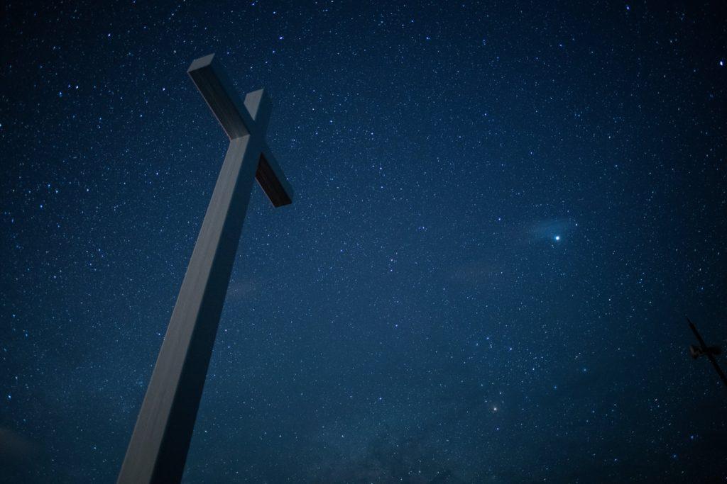 神津島の星空ジュリアの十字架