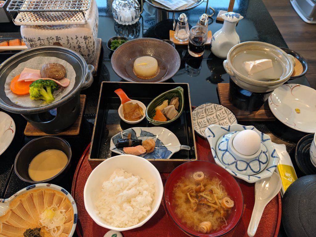 乳頭温泉「妙乃湯」の朝食メニュー