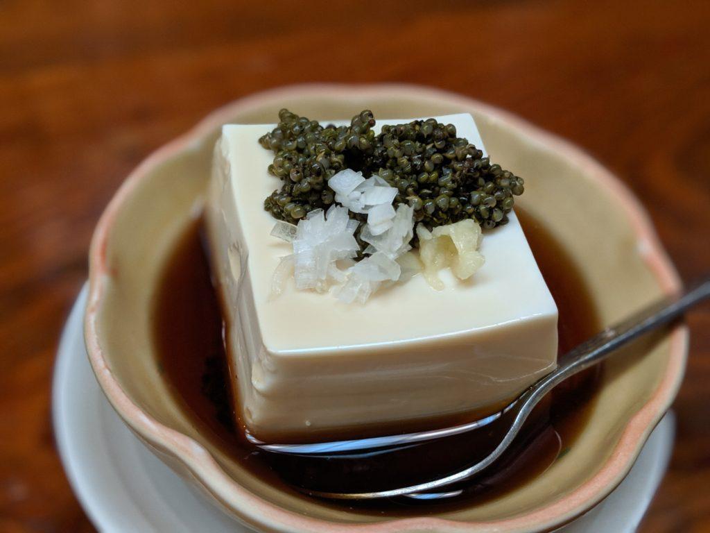 秋田郷土料理「ちゃわん屋」のぎばさ