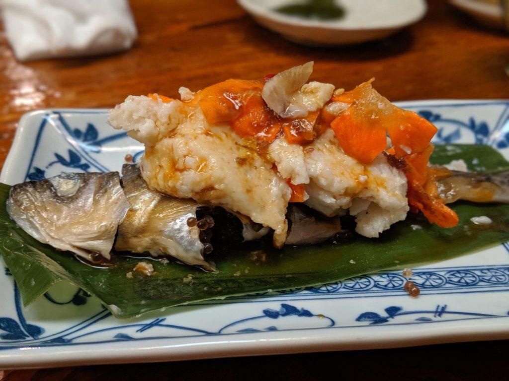 秋田郷土料理「ちゃわん屋」のはたはた寿司