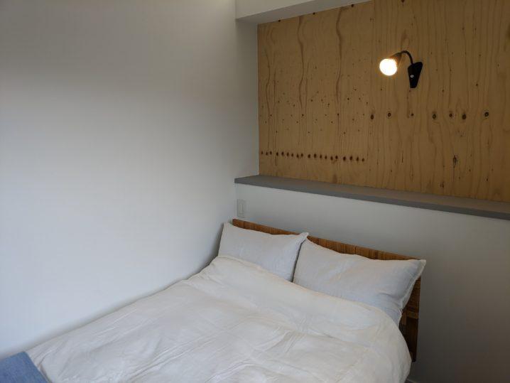 白馬・岩岳の滞在おすすめホテルhaluta hakuba 上質なベッド