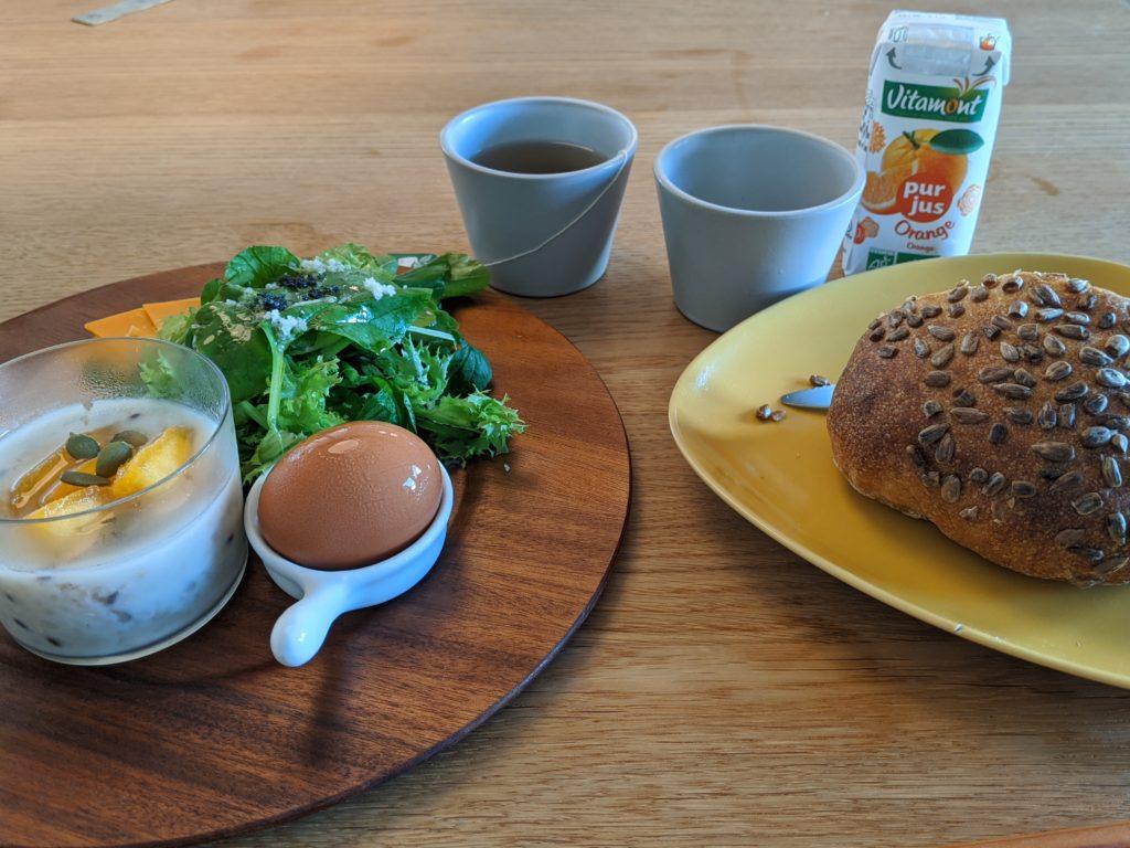 白馬・岩岳の滞在おすすめホテルhaluta hakuba 朝食
