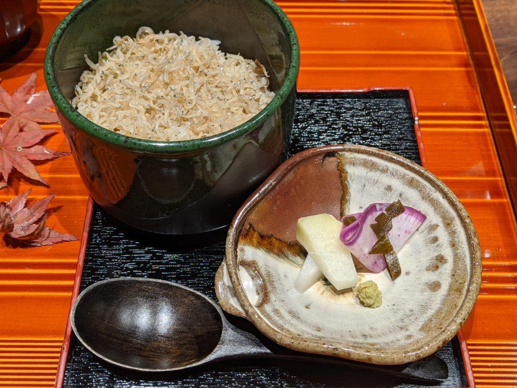 別府でおすすめの宿「おぐら」の食事8