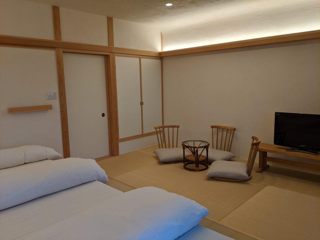 別府でおすすめの宿「おぐら」のお部屋写真3