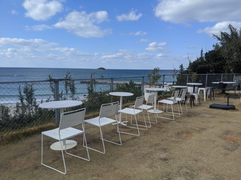 日本海を見下ろす絶景カフェZERO CAFE