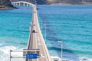 山口の絶景スポット「角島大橋」