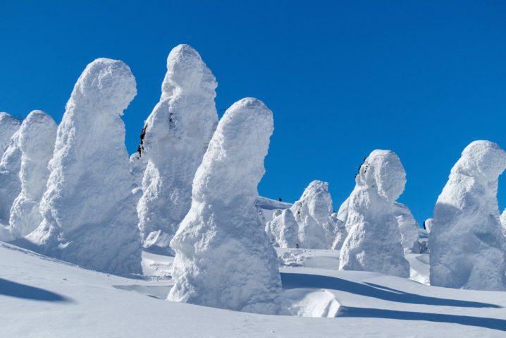 山形蔵王の樹氷おすすめのスポット