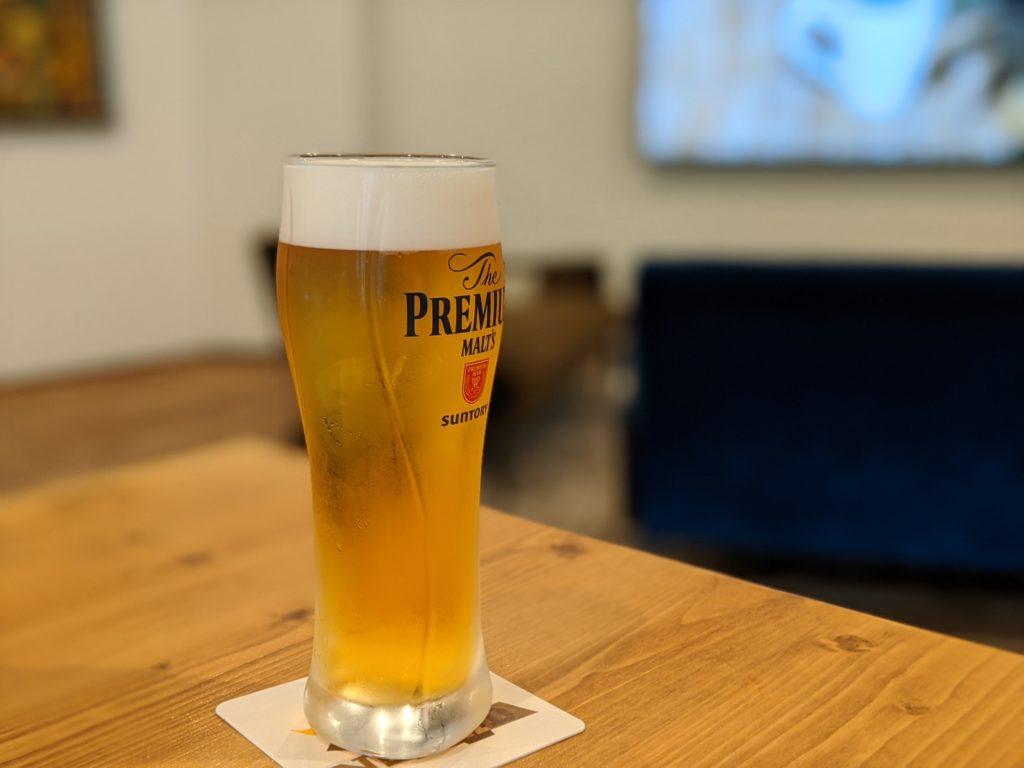 白馬でワーケーションするならおすすめのNOMAD HAKUBA(ノマド白馬)ビール