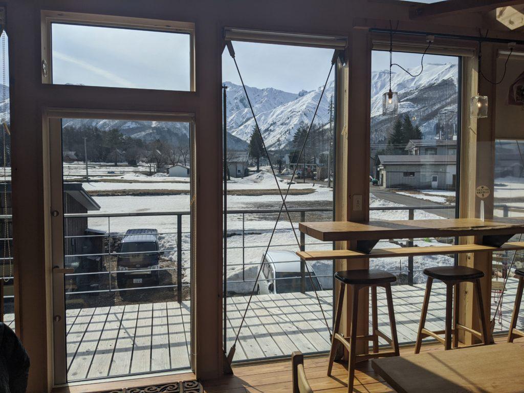 白馬の絶景おすすめカフェ「アンドマウンテン」