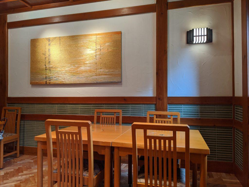 上高地帝国ホテルの館内の写真