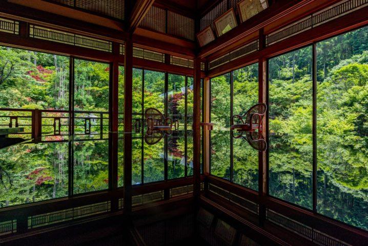 佐賀芸術環境の森「風遊山荘」のリフレクション写真1