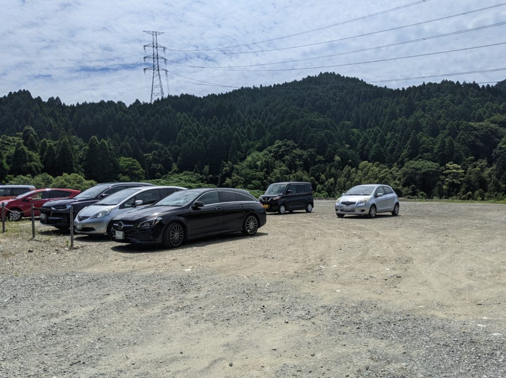 佐賀環境芸術の森駐車場